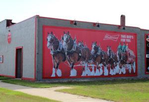 Americana on the road, Gilman, Illinois
