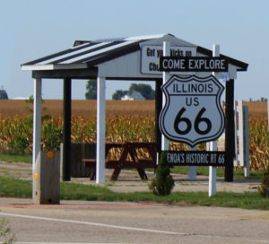 route 66 illinois intersection