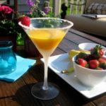 mango, summer mango cocktail Snowbird Recipe