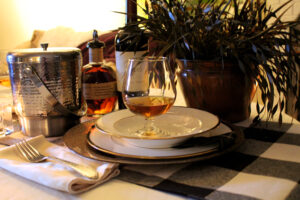 Burns Night Table Setting Midlife Snowbird blog