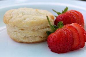 Biscuit and Strawberries Midlife Snowbird