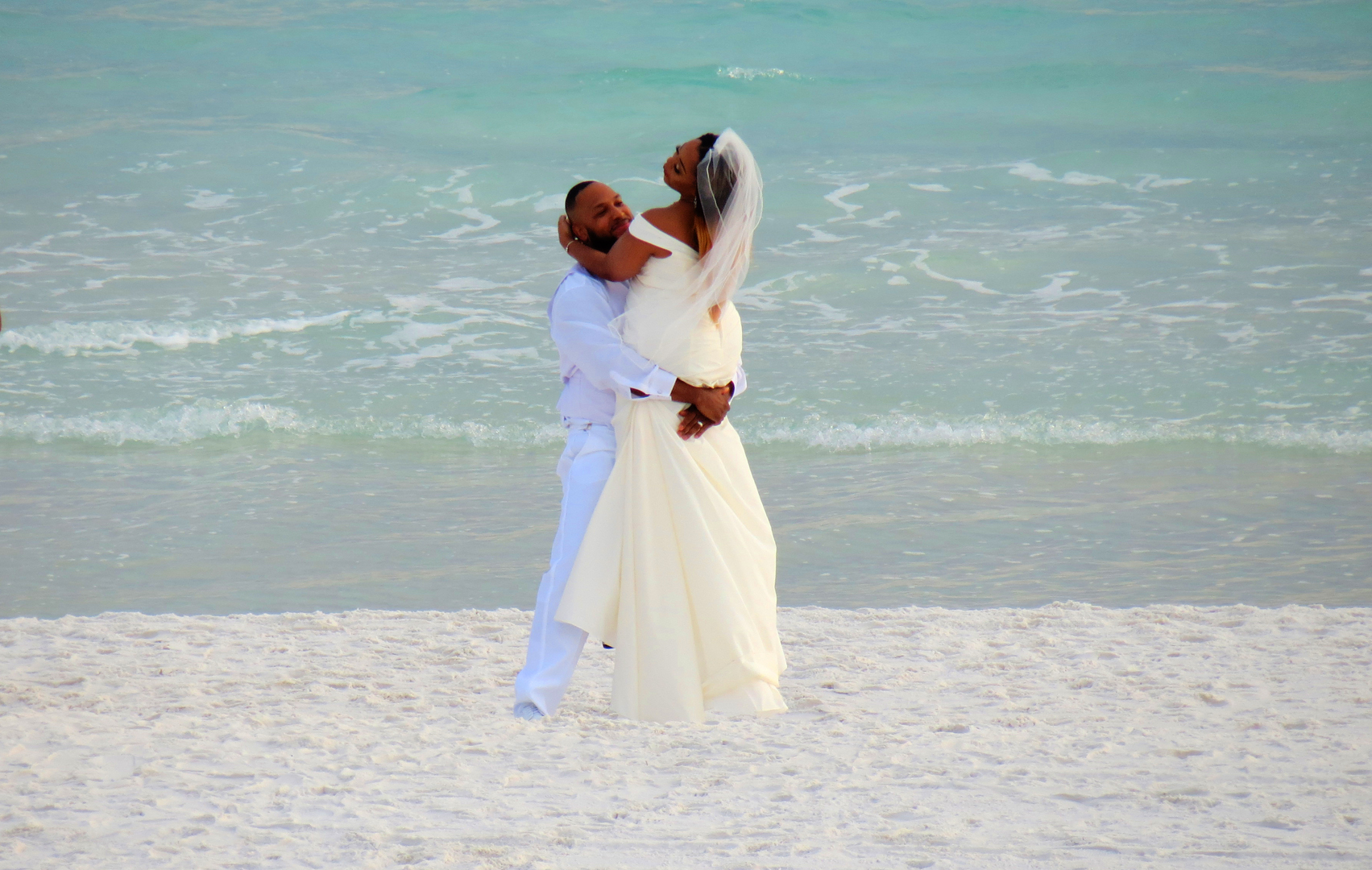 The most beautiful beach weddings are the simplest ones, let the water, sand and sky be your best backdrop